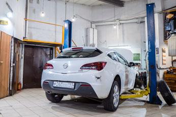 Ремонт Opel Astra J GTC